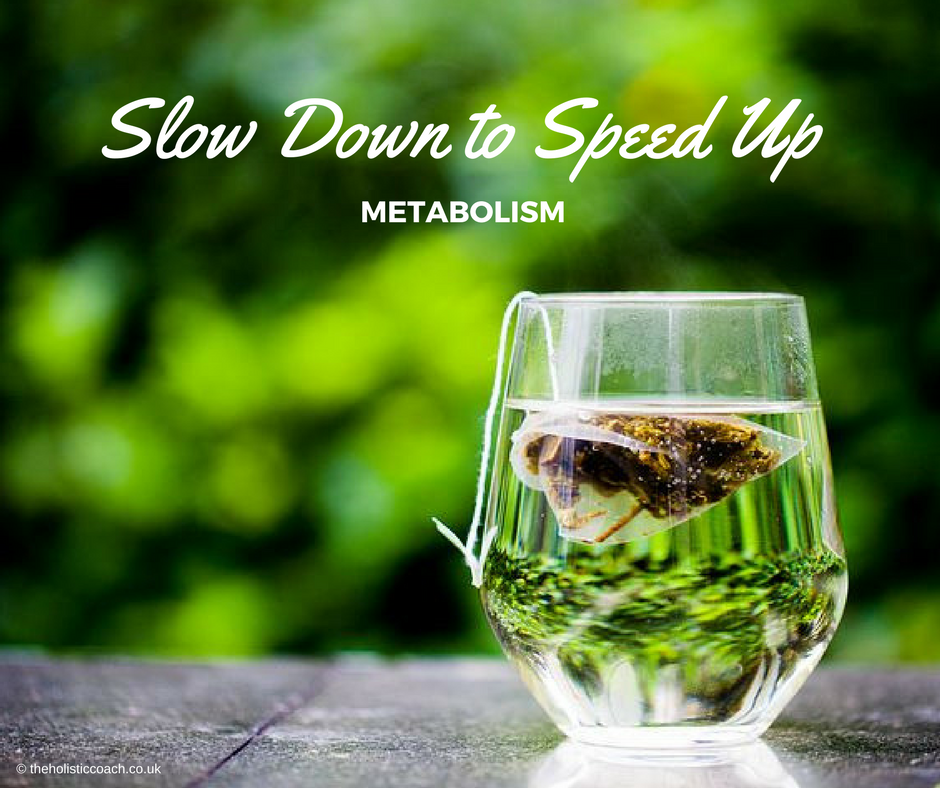 Slow Down to Speed Up - The Holistic Coach